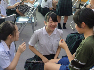 写真:2018年度オープンスクールの様子(体験クラブ)